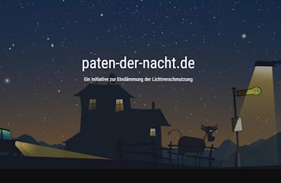 Paten der Nacht, Initiative Lichtverschmutzung