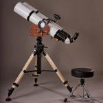 Sternführung mit Teleskop