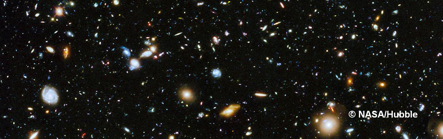 Größe beobachtbares Univerum - Wie groß ist das Universum