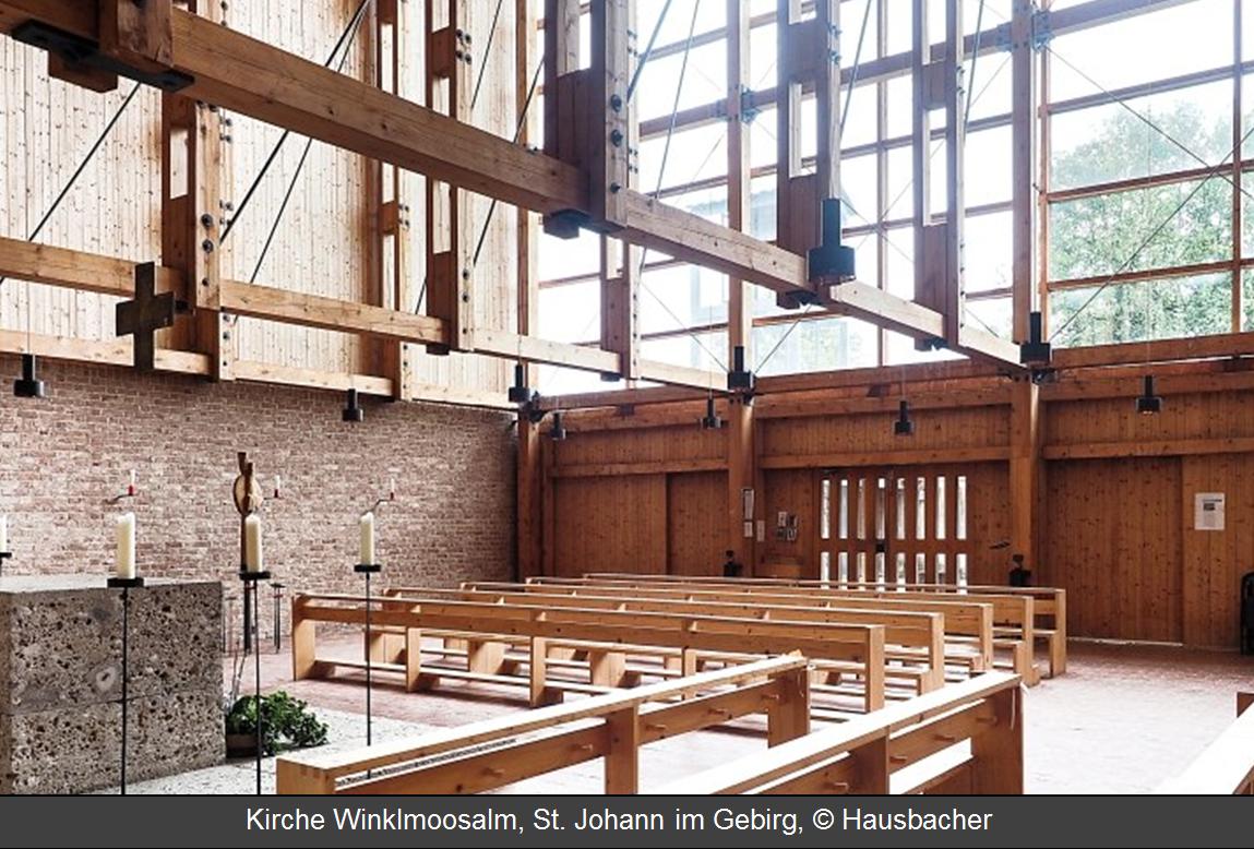 Kirche Winklmoosalm sternführung