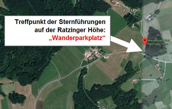 Sternfühung Ratzinger Höhe, Chiemsee, Rimsting